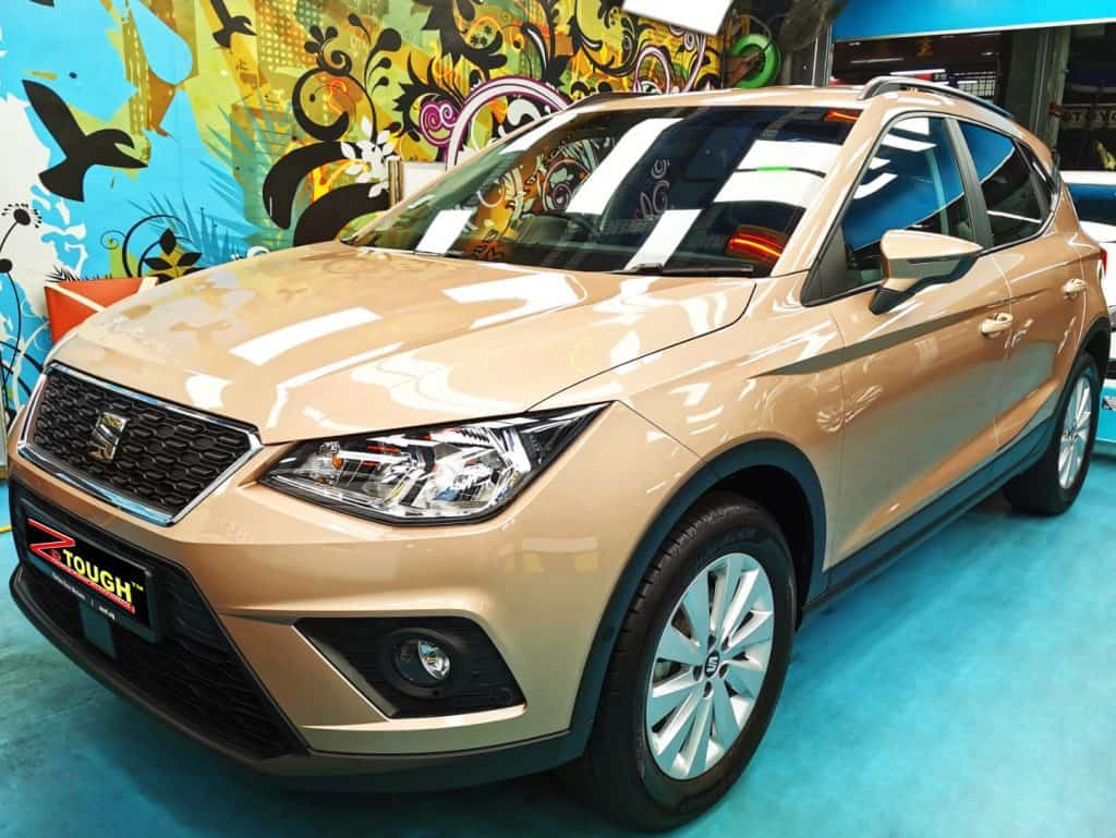 Titanium Paint Protection Services for Hunky Seat Arona