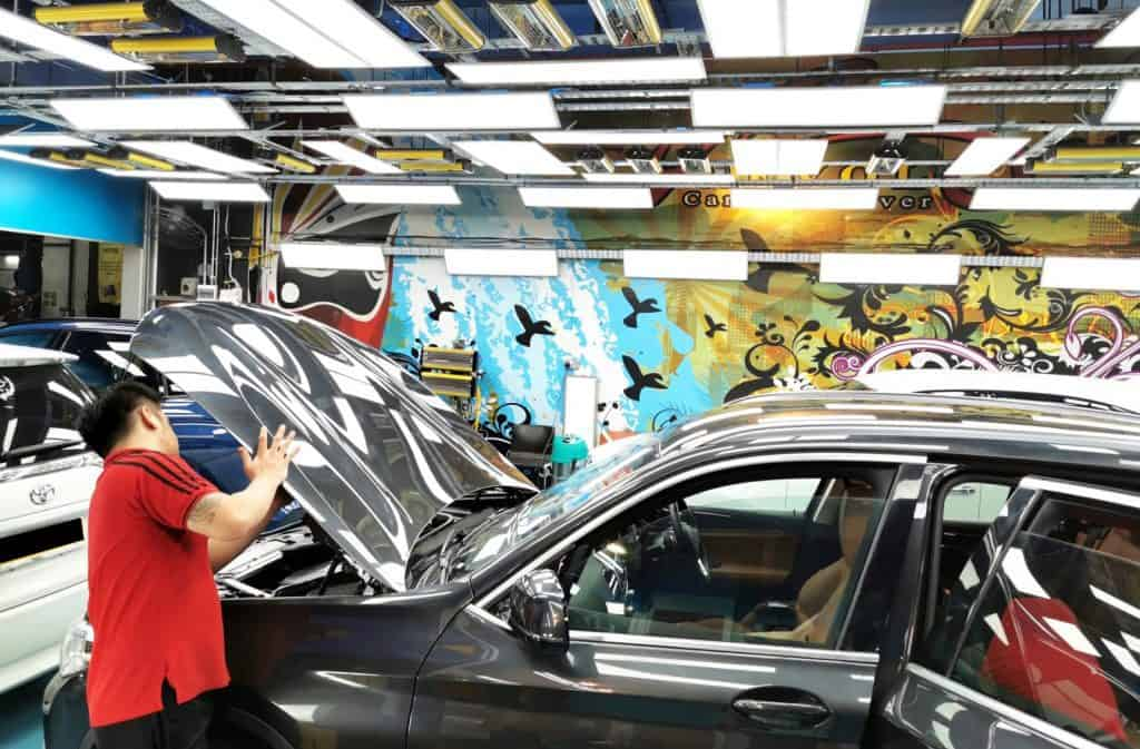 Regal Car Pampering with ZeTough Paint Protection Treatment