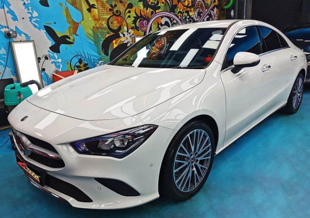 Titanium Coating For A Brand New Mercedes Benz CLA200
