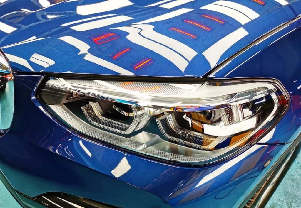 BMW X3 for ZeTough Ceramic Paint Protection Services
