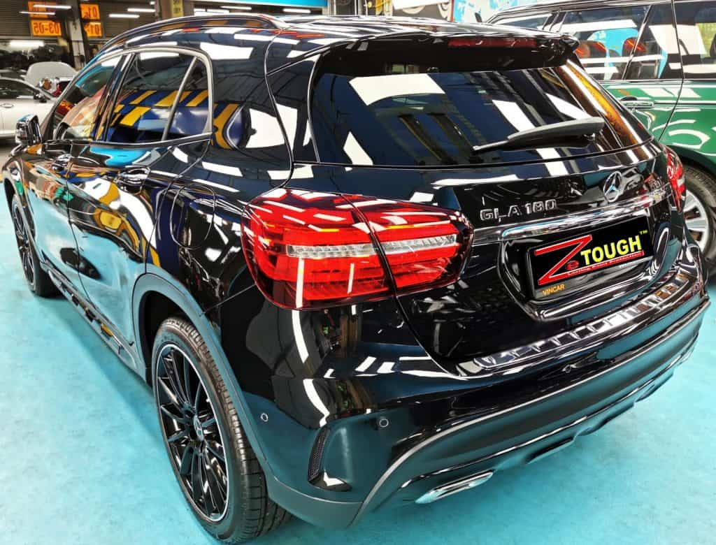 Stunning ZeTough Paint Protection for Mercedes Benz GLA180
