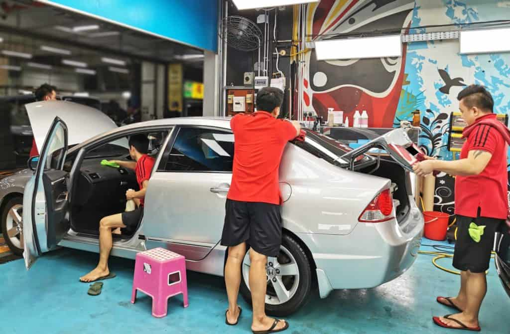 This Saturday, relax and trust our team to treat your car!