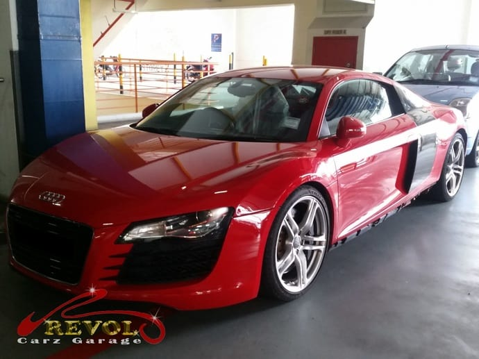 Audi R8 Case Study: Gorgeous R8 with air-con valve issue