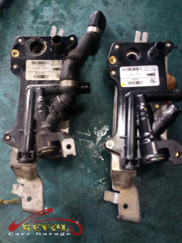BMW Case Study 16: BMW 520i auto transmission fluid replaced