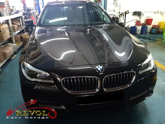 BMW Case Study 2: BMW 520i aircon issue, blower motor change