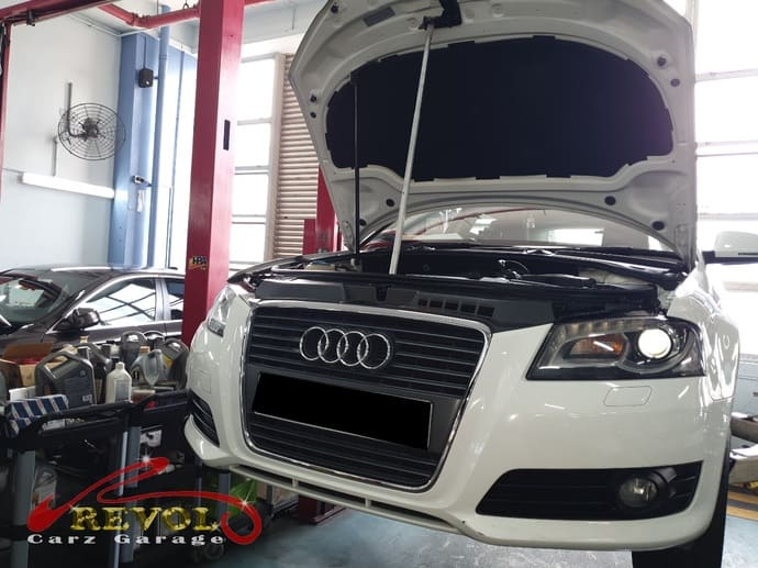 Audi Case Study 3: Audi A3 Rear Wheel Bearing Replacement
