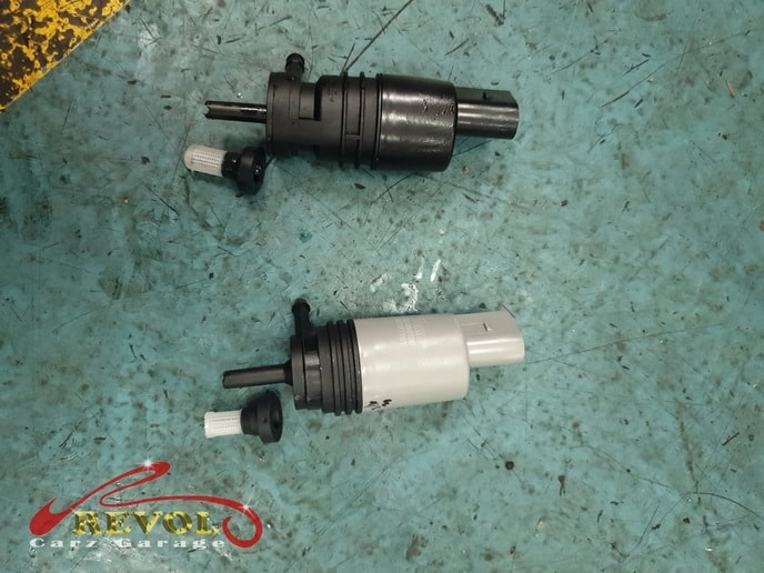 BMW CS 3 - BMW 135i's wiper pump replaced