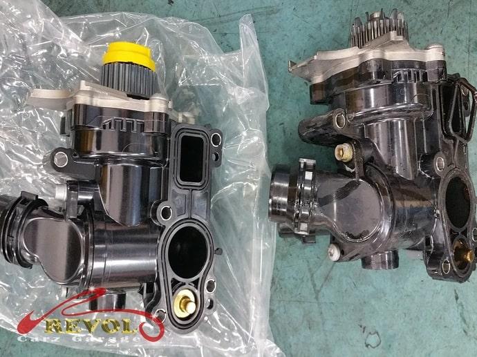 Audi Case Study 4: Tricia's Audi A4 coolant pump replacement