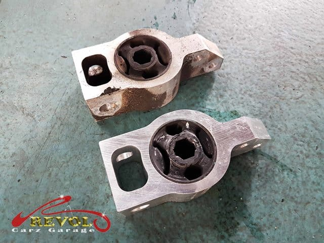 VW Case Study 3: Control ARM Bush Replacement, Done in A Day