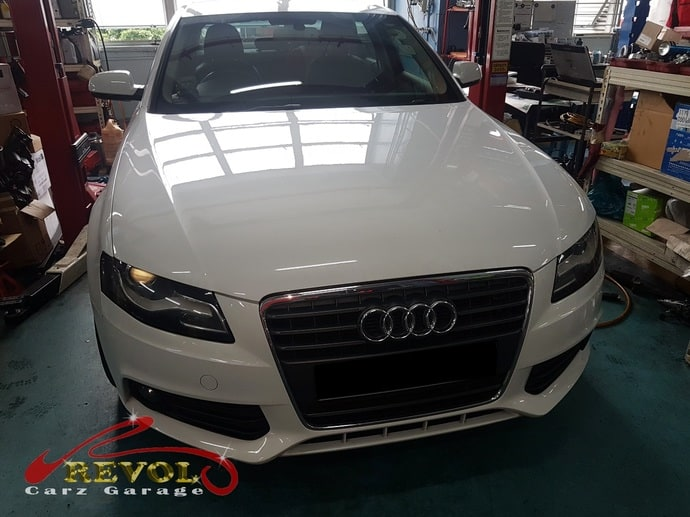 Audi Case Study 5: Audi A4 for a radiator fan replacement