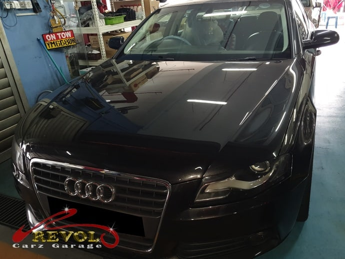 Audi Case Study 6 - Norman's Audi A4