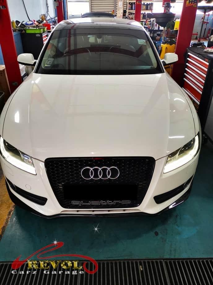 Audi Case Study 7: Audi A5 Ignition Coils Replacement