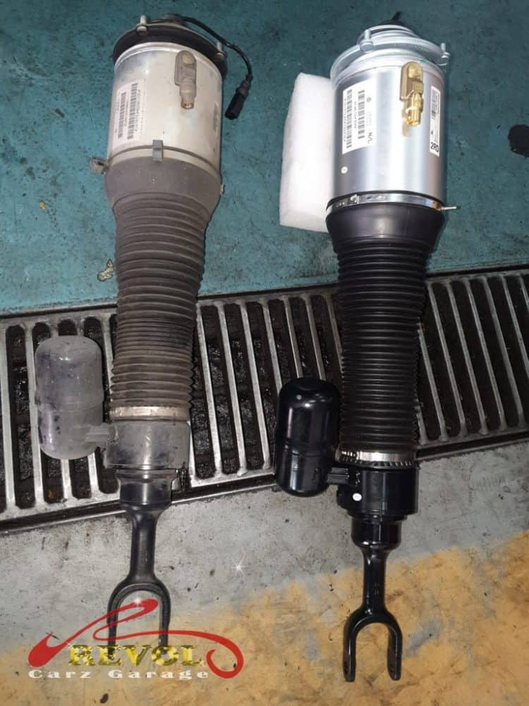 VW Case Study 6: Air-Matic Replacement. Finished In A Day