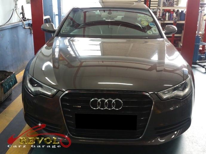 Audi Case Study 8: Audi A6 gear control unit replacement