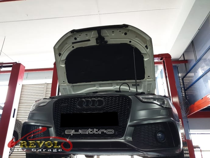 Audi Case Study 9 - Sam's Audi S5 needs new oil separator
