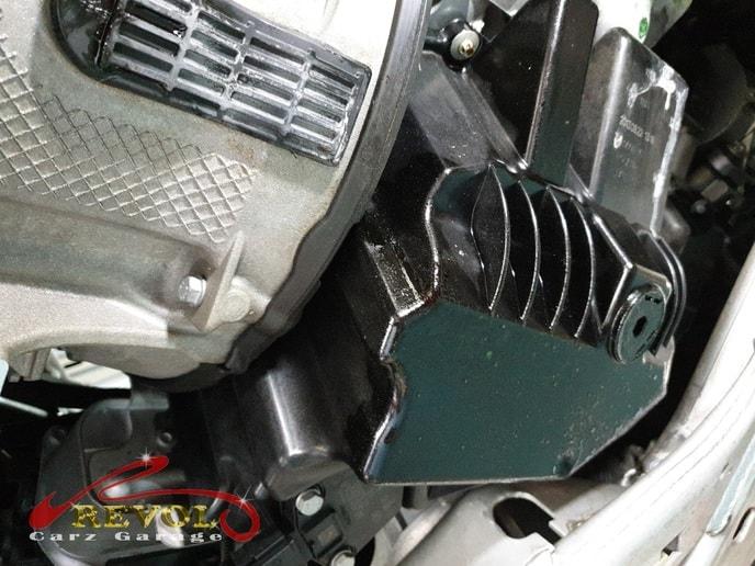 BMW Case Study 8 – BMW 520i engine oil leakage rectification