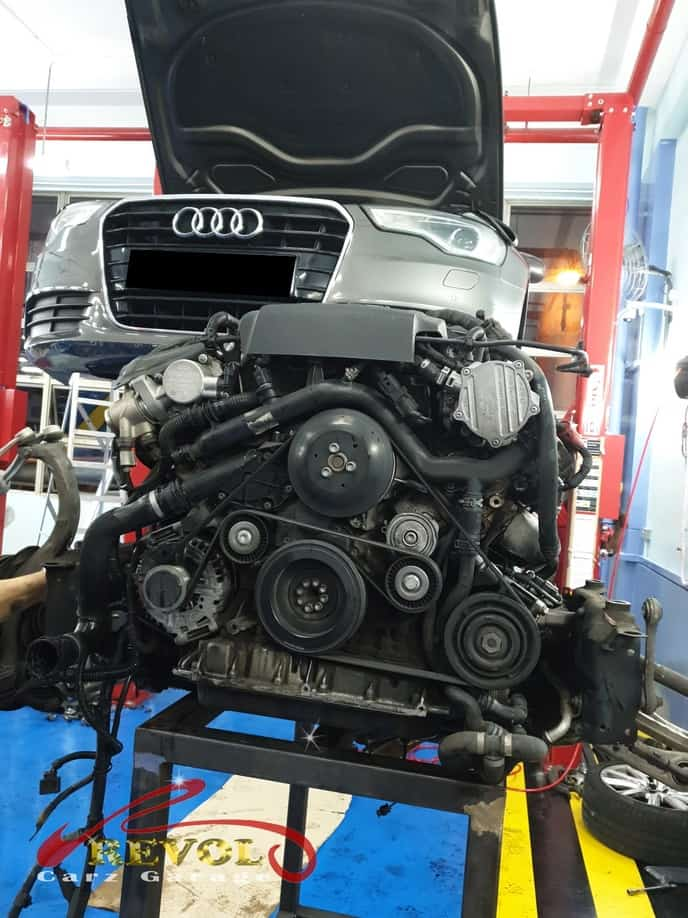 Audi Case Study 11: Mr. Loh's Audi A6 seemed thirsty for oil