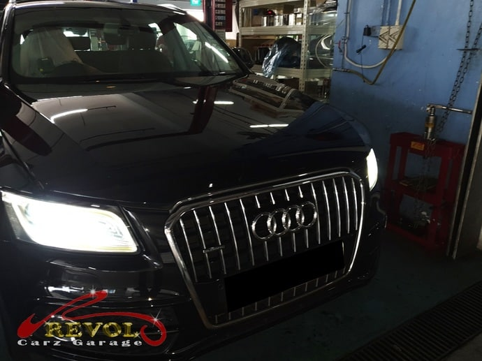 Audi Case Study 12 - Mr. Sung and his off Audi Q5 headlights