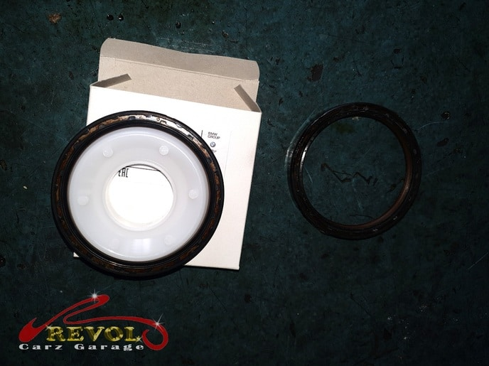 BMW Case Study 11: BMW 318i Flywheel Oil Seal Replacement