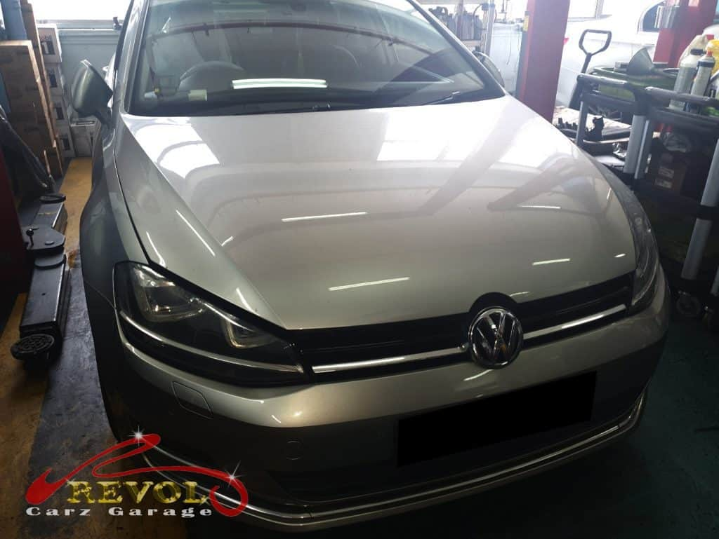 VW Case Study 15: Golf A7 Air Compressor Replacement