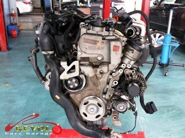 VW Case Study 16: Volkswagen Engine Overhaul. Done In A Day