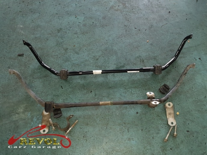 BMW Case Study 14: Replaced Anti-roll Bar and Front Absorber