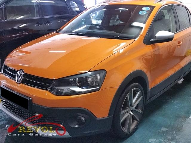 VW Case Study 1 - Volkswagen Cross Polo 1.2 at-gearbox overhaul