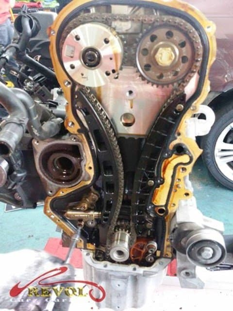 VW Case Study 18: Engine overhauling fixed On Time