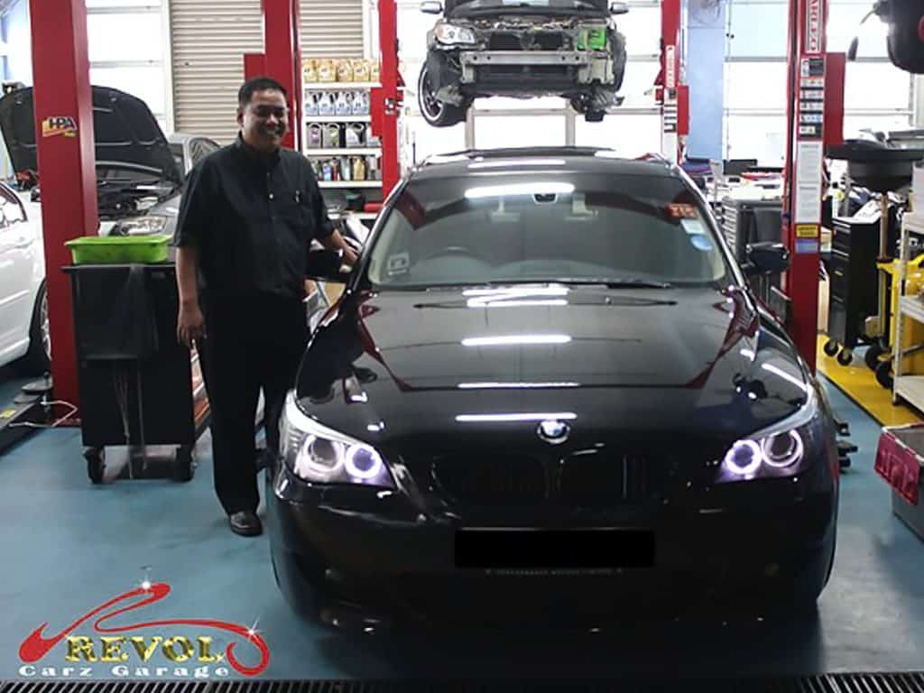 Car Services Testimonials: BMW Coolant and Oil leak Resolved