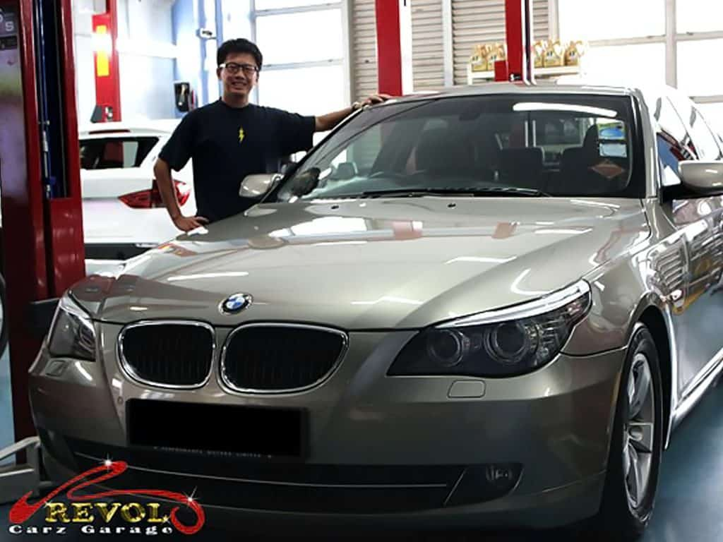 Car Servicing Testimonials: BMW 5 Series Engine Oil Loss