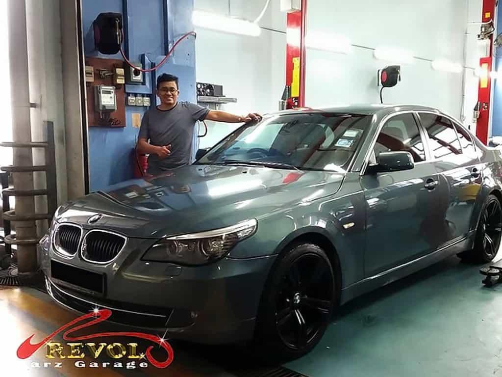 Mr. Zanly's BMW Car Servicing Testimonials