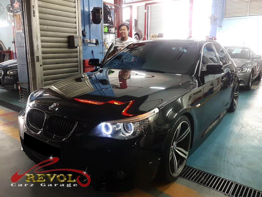 Car Servicing Testimonials: BMW E60 Leakage Repairs