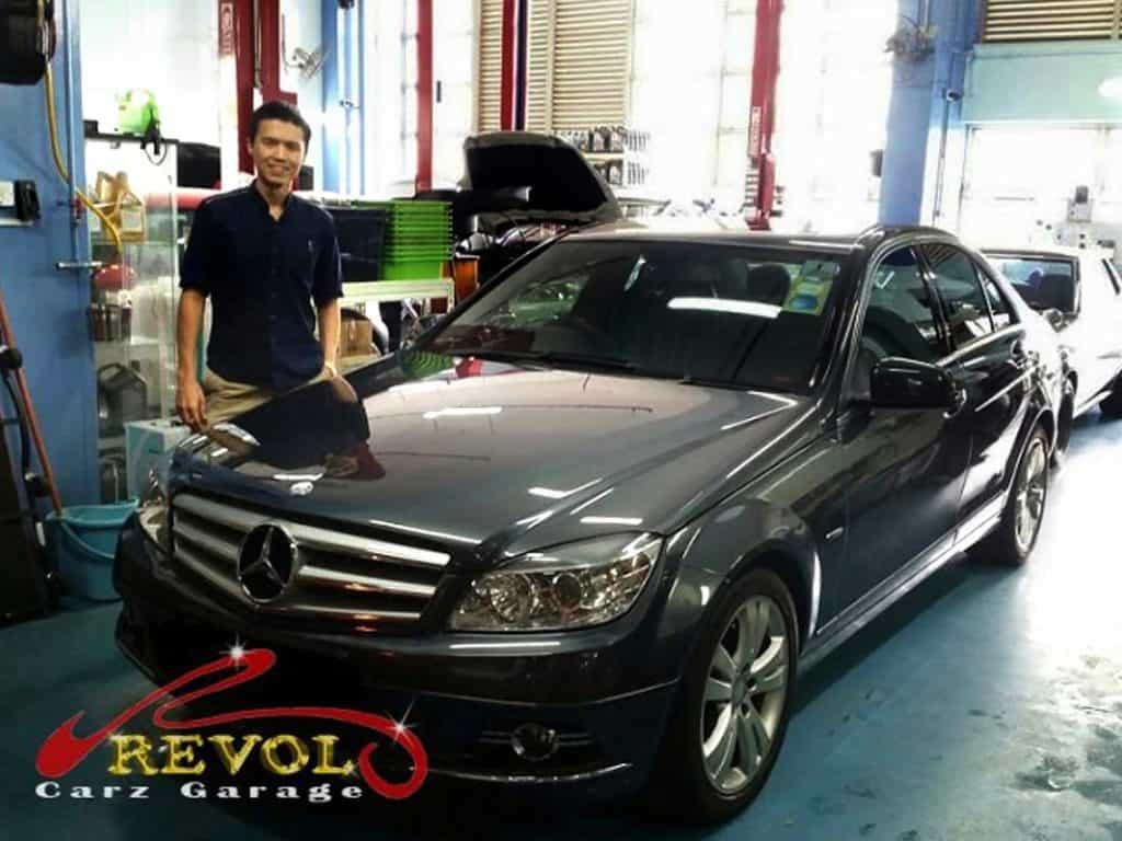 Car Servicing Testimonials: Mercedes-Benz New Anti-Roll Bar