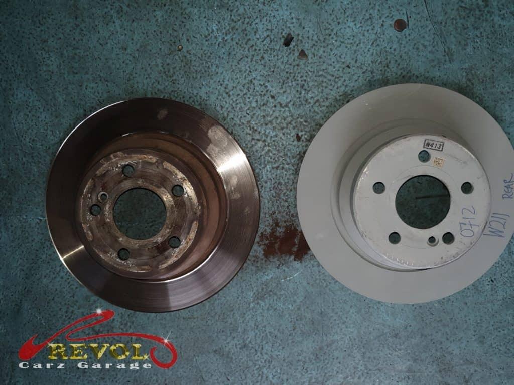 Mercedes-Benz CS 3 - rear rotor