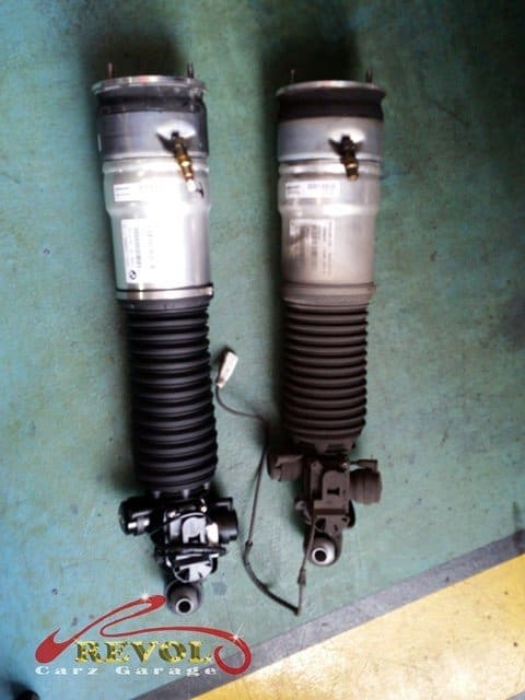 BMW CS 24: BMW 7 Series Self-Levelling Air Suspension Replaced