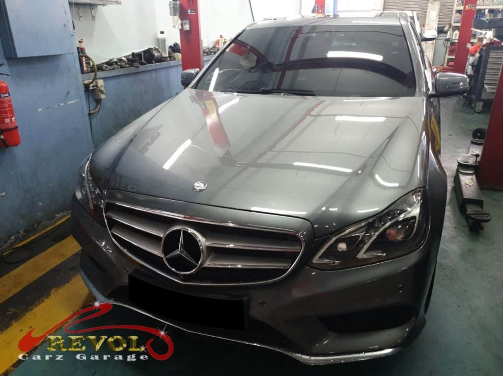 Mercedes-Benz Case Study 9: Car Maintenance Service for E200