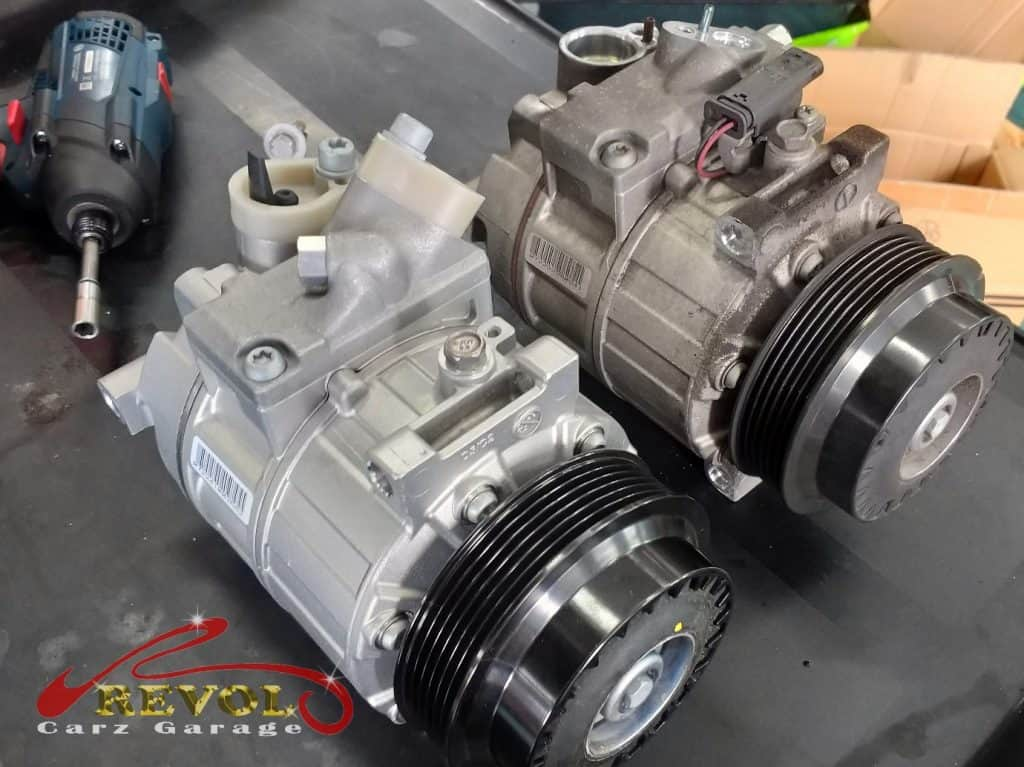 Mercedes-Benz CS 13: new compressor