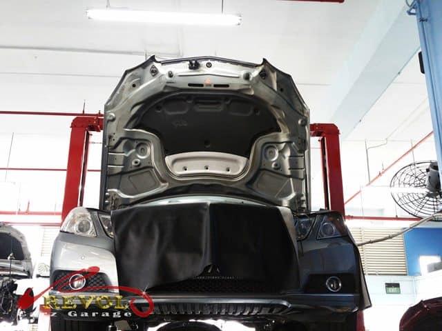 Mercedes-Benz CS 16: E250 Oil Filter Housing Replacement