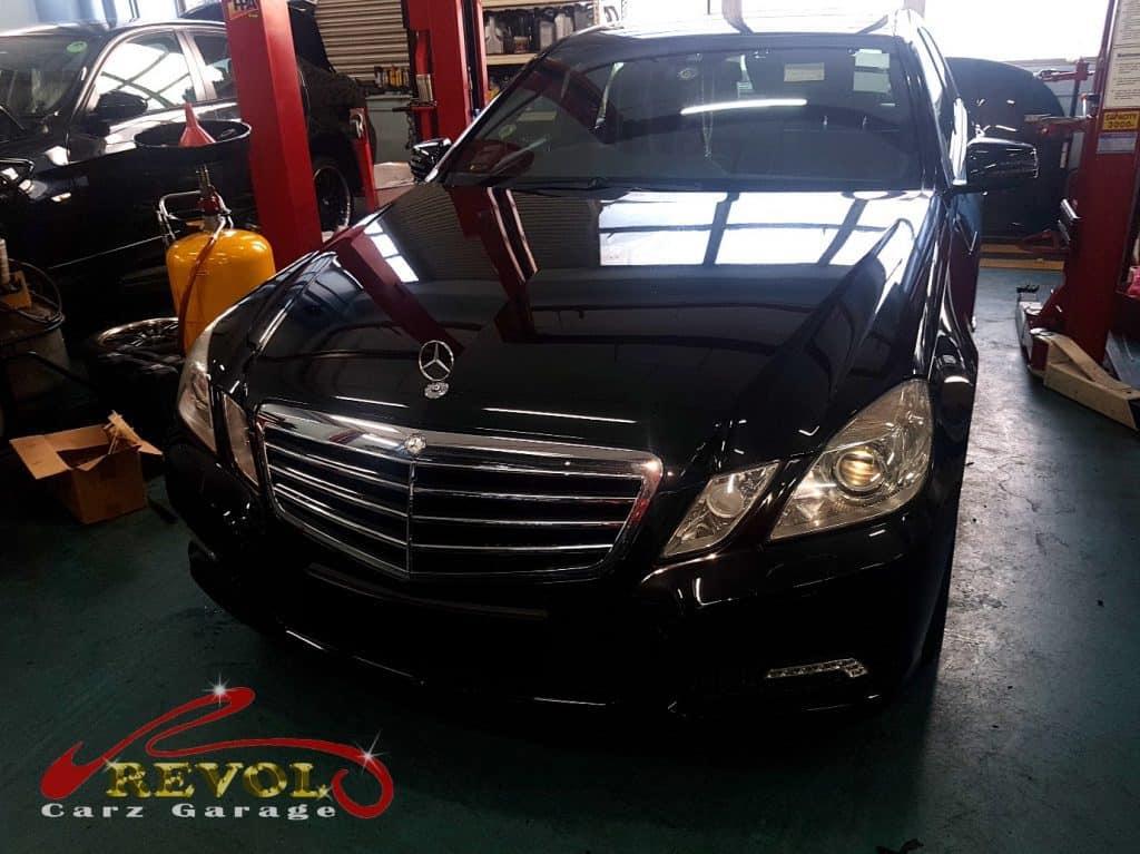 Mercedes-Benz CS 17 - car wash and interior vacuum