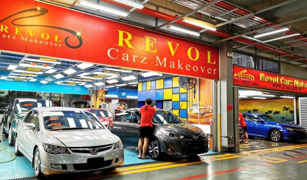 Revol Carz - Entrance - Audi workshop - BMW workshop - Mercedes-benz workshop - Volkswagen workshop