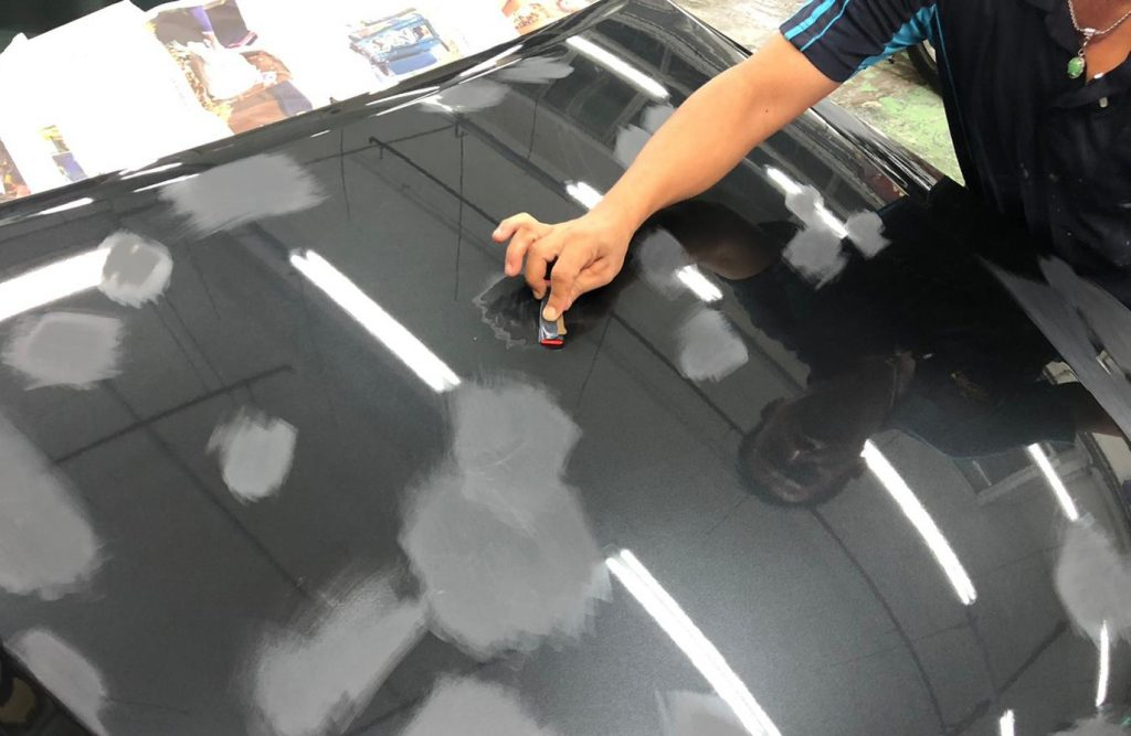 Lexus IS250: Day 6 Following up for a Full Spray Painting!