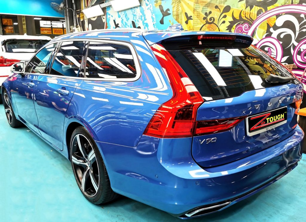 Dashing Volvo V90 just did the ZeTough Ceramic Paint