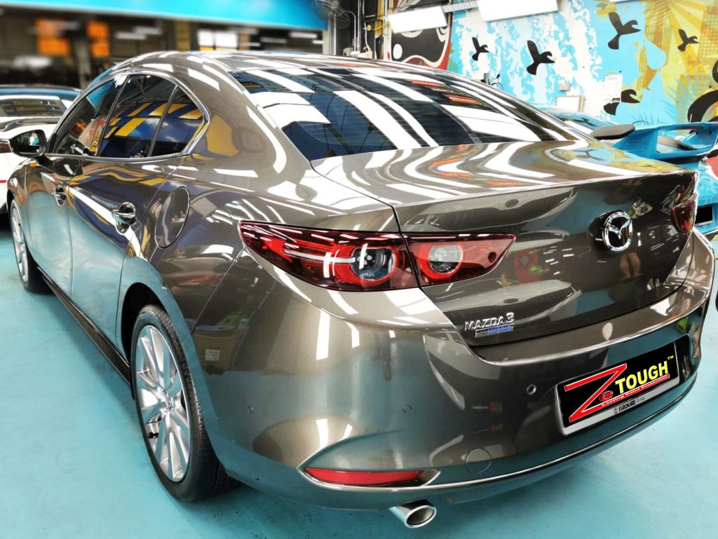 Dazzling Mazda 3 for ZeTough Ceramic