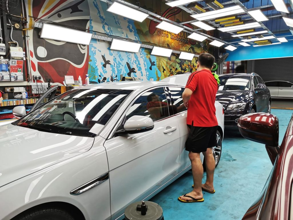 Protect your car from rain watermarks with Paint Protection