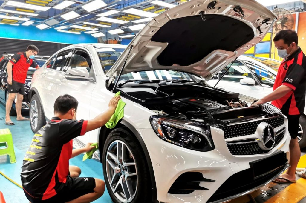 Spray Painting and Paint Protection Services just for you!