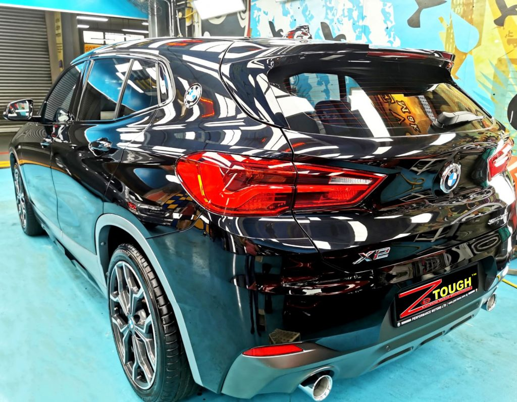 Dashing BMW X2 Checked-in for ZeTough Ceramic Paint