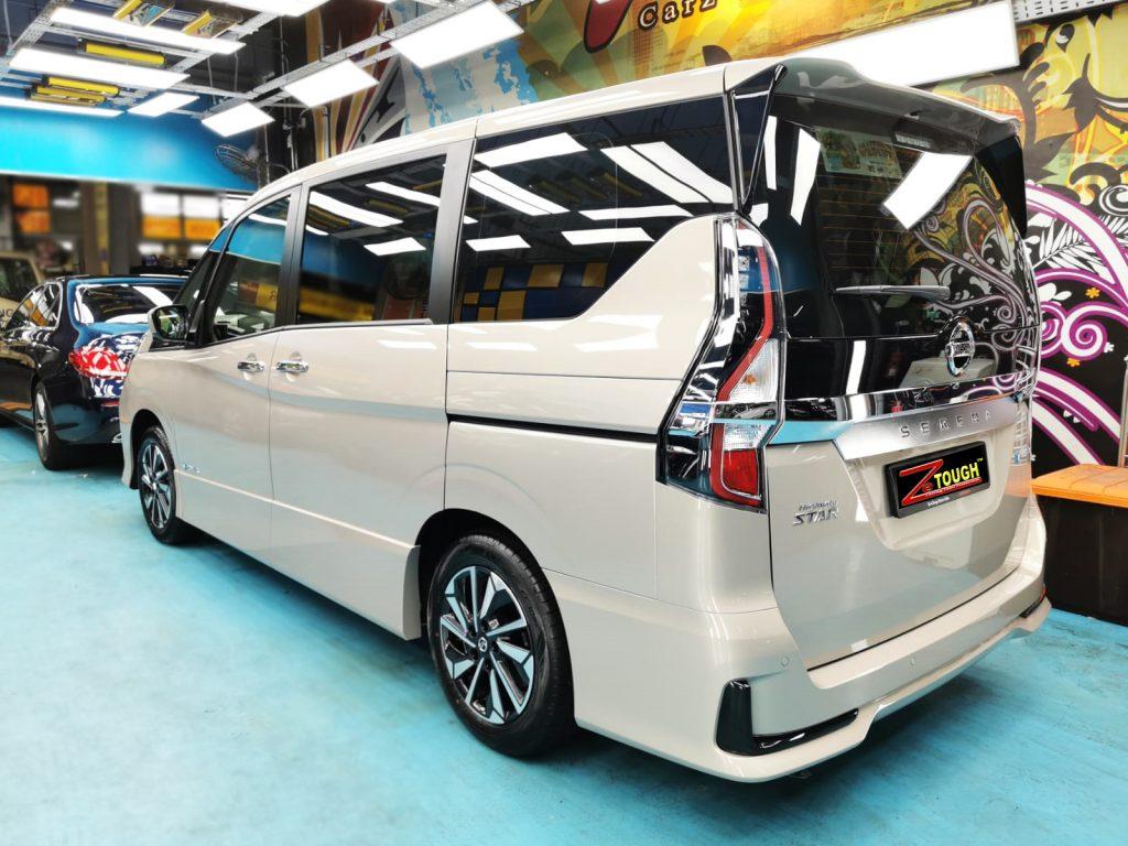 Grand Nissan Serena: Pampered with ZeTough Titanium coating