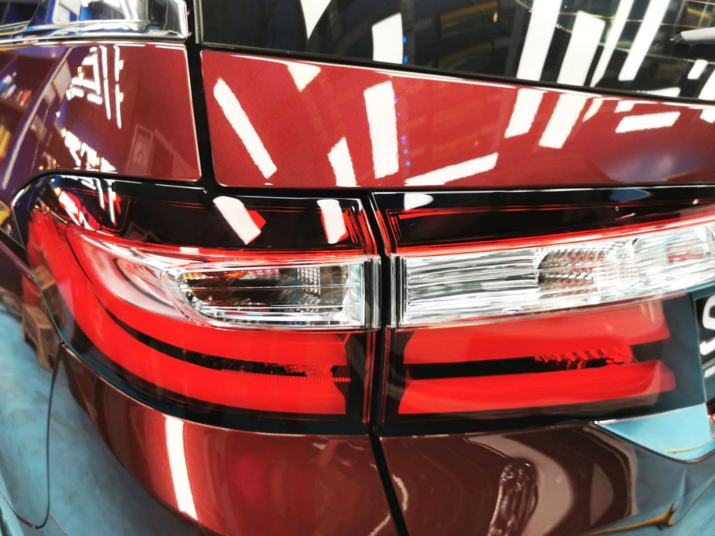 Ultimate Ceramic Paint Protection Work for a Honda Odyssey