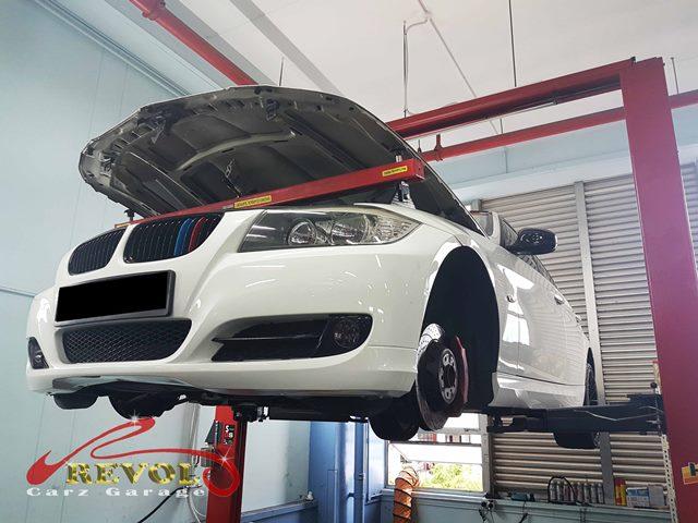 BMW 3 Series on Hoist