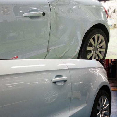 Paint - Before and After